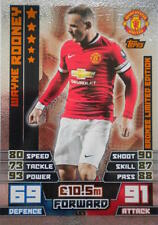 Match Attax 2014/15 Limited Edition LE3 Bronze Wayne Rooney Manchester United