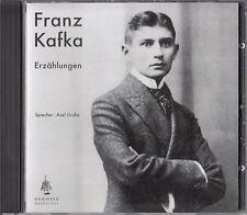 FRANZ KAFKA : ERZÄHLUNGEN / CD (HÖRBUCH) - NEU