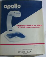 """Apollo Transparency Film 64 Sheets Open Box Loose Sheets 8 1/2"""" x 11"""""""