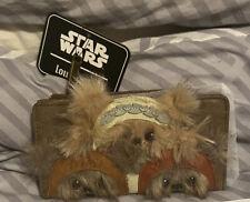Star Wars Ewok Wicket Loungefly Purse BNWT
