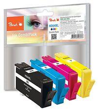 Peach 4er Pack PI300-370 für HP 364XL N9J74AE CN684EE CB323EE CB324EE CB325EE