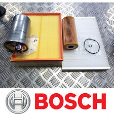 BOSCH SERVICE KIT for AUDI A4 (B6/B7) 1.9 TDI Oil Air Fuel Cabin Filters 2000-08
