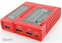 HDMI Continuity Cable Tester Master and Remote for Type-A and Type-C Mini Plugs