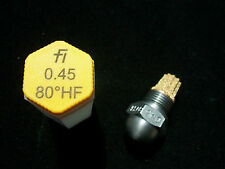 Fluidics Öldüse 0,45/80° HF Hohlkegel die Düse mit sternförmigem Primärfilter