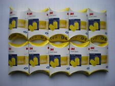 10 x PAIRS 3M EARPLUGS FOAM EAR PLUGS - FREE POSTAGE IN IRELAND -BEST QUALITY