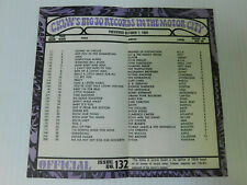 CKLW Big 30 Detroit Music Chart Week of October 7 1969 Friends of Distinction