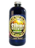 Colloidal Silver 16 oz. 240 PPM by Silver Mountain Minerals. Free Fast Shipping!