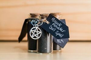 Black Powder Doll Spell - Hex, Protection, Yorkshire, Wicca, Ritual, Handmade