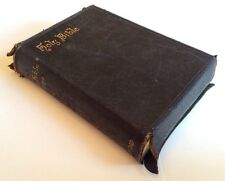 Antique - The Holy Bible Containing Old And New Testaments (With Maps) c1891