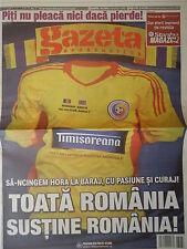 Gazeta LS 19.11.2013 Romania Rumänien - Greece Griechenland