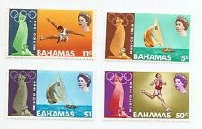 Bahamas -1968 Mexico Olympic Games - Un-mounted mint set