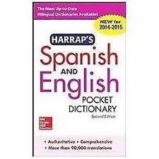 Harrap's Spanish and English Pocket Dictionary by Harrap's Staff (2013,...