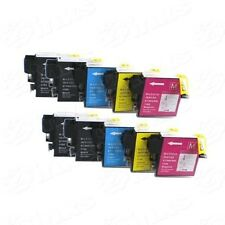 10 NON-OEM INK BROTHER LC61 LC-61 MFC-295CN MFC490CW MFC-495CW MFC-5490CN 5890CN