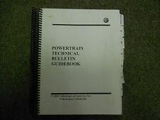 2005 VW Powertrain Technical Bulletin Guidebook Service Manual OEM FACTORY 05
