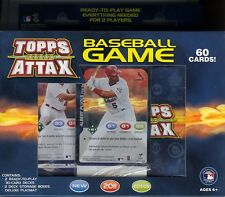 2011 Topps Attax MLB Baseball Factory Sealed 2 Player Starter Deck Neuwertig