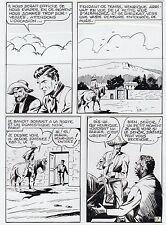 "MELLIES ""LE CIRQUE DU DIABLE"" PLANCHE ORIGINALE TEX BILL ARTIMA PAGE 17"