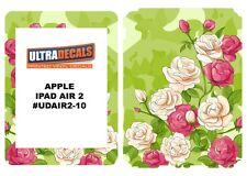 Ultradecal iPad Air 2 Skin Wrap Decal Printed Sticker 3M Vinyl - Mix Rose