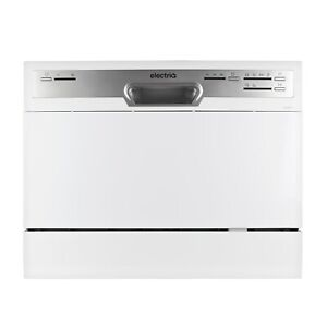 electriQ Table Top Dishwasher - White