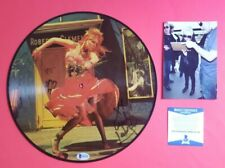 CYNDI LAUPER SIGNED SHE'S SO UNUSUAL PICTURE DISC ALBUM WITH BAS COA PHOTO PROOF