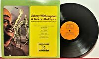 "🎷 ""JIMMY WITHERSPOON & GERRY MULLIGAN (Self-Titled)"":  Everest # FS-264: NM- 🎷"