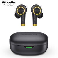 Bluedio Bluetooth Earphone 5.0 Waterproof Sport In Ear TWS Wireless Earbuds Mic