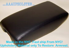 Armrest Console Lid Real Leather Cover for Lexus GS300 GS400 GS430 99-05 Black