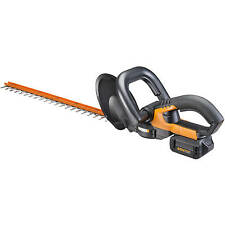 """WG280 WORX 40V Cordless 20"""" Hedge Trimmer Lightweight Dual Blades with Soft Grip"""