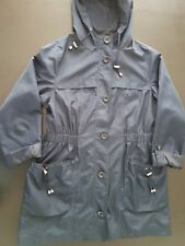 Womens Rain Coat Jacket Size 16 Debenhams Navy