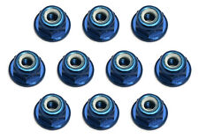 Dadi Alluminio Flangiati Blu M3 Team Associated RC8B3 RC8B3.1 (10) - 25392