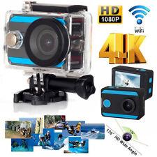 H26 4K 2'' Ultra HD 1080P Sports WiFi Cam Action Camera DV HDMI Video Recorder