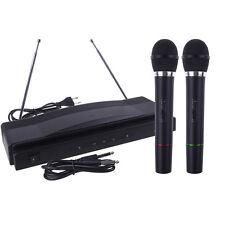 Professionelle Funkmikrofon System Dual-Handheld + 2 x Mic Cordless Empfänger