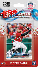 National League All Star Standouts 2018 Topps Factory Sealed Team Set  LOADED