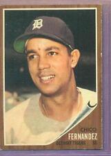 1962 TOPPS # 173 CHICO FERNANDEZ TIGERS EX/NM+