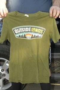 Outside Lands t shirt Radiohead Duran duran LCD Lana Dey Rey J Cole small