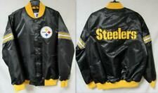 Pittsburgh Steelers Mens Size Medium Snap Front Starter Jacket B1 423