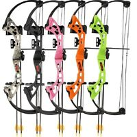 New 2015 Bear Archery Brave Youth Compound Bow Kit Green Model# AYS300GR