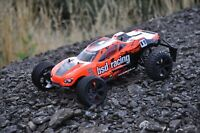 BSD Racing Prime Storm RC Truggy 1/10 Scale Radio Remote Control Car - Orange