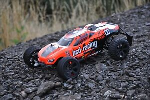 BSD Racing Prime Storm RC Truggy 1/10 Scale Ready to run - Inc Battery & Charger