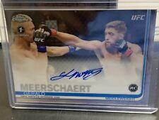 Topps UFC Gerald Meerschaert 1st Auto Rookie Card Chrome