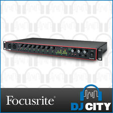 Focusrite Scarlett 18i20 Gen 3 18-in 20-out USB Audio Interface With 8 Preamps