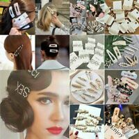 Pearl Hair Clips Hairband Comb Bobby Pin Barrette Hairpin Headdress Accessories