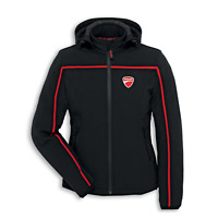 New Spidi Ducati Redline Fabric Jacket Woman's Small Black/Red #981031683