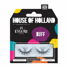 House Of Holland False Lashes Buff - Long Volume Thick Fake Eyelashes Party