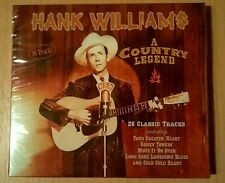 HANK WILLIAMS A Country Legend (CD neuf scellé/Sealed)