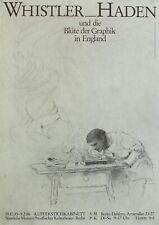 Whistler – Haden, 1938 auf einem Original-Plakat.