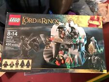 Lego 9472 Lord of the Rings Attack on Weathertop, Nib, Ages 8-14, 5 mini-figs