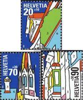 Schweiz 1692-1694 (kompl.Ausg.) postfrisch 1999 NABA 2000