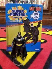Custom Carded Super Powers Black Suit Batman (Read Description)