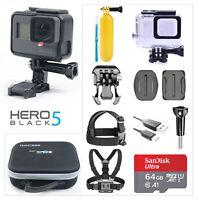 GOPRO HERO 5 BLACK 12 MP Waterproof Action camera 4K WiFi CHDHX-501