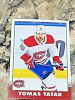 2020-21 O-Pee-Chee Retro Thomas Tatar #345 NHL Hockey Card Montreal Canadiens